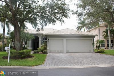 Coral Springs Single Family Home Backup Contract-Call LA: 11516 NW 49th Ct