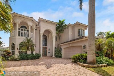Fort Lauderdale, Lauderdale By The Sea, Lighthouse Point, Oakland Park, Pompano Beach Single Family Home For Sale: 2618 Sea Island Dr