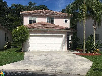 Coconut Creek Single Family Home For Sale: 1906 NW 48th Ave