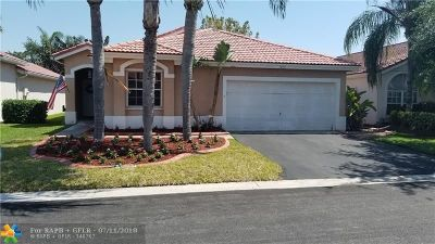 Margate Single Family Home For Sale: 7859 NW 33rd St