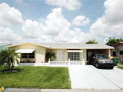 Tamarac Single Family Home For Sale: 5717 NW 65 Ave