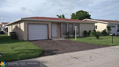 Pompano Beach Single Family Home For Sale: 1631 NW 48th Pl
