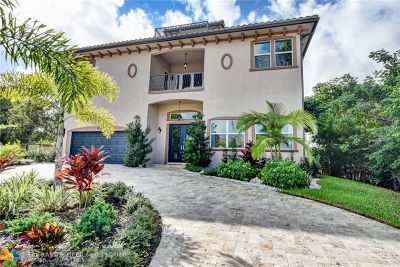Delray Beach Single Family Home For Sale: 1030 Rhodes Villa Ave
