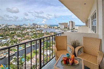 Fort Lauderdale Condo/Townhouse For Sale: 2500 E Las Olas Bl #PH 8