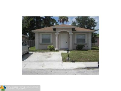 Fort Lauderdale Single Family Home For Sale: 2778 NW 9th St