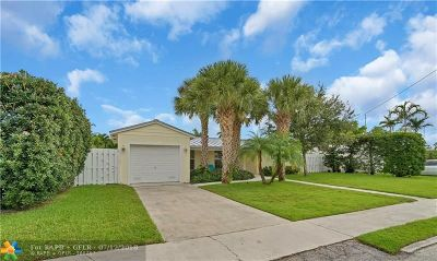Fort Lauderdale Single Family Home For Sale: 1017 Avocado Isle