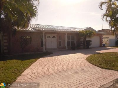 Fort Lauderdale Single Family Home For Sale: 2830 NE 60th St