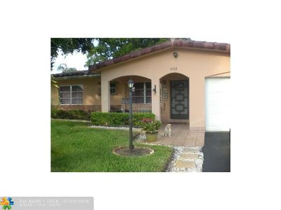 Pompano Beach Single Family Home For Sale: 4360 NW 12th Ter