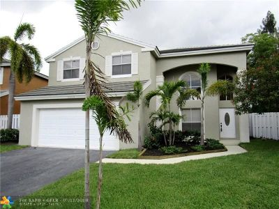 Coconut Creek Single Family Home For Sale: 5444 NW 52nd Ave
