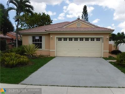 Pembroke Pines Single Family Home For Sale: 1021 NW 187th Ave