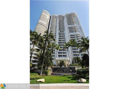 Aventura Condo/Townhouse For Sale: 21050 Point Place #402