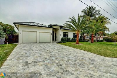 Pompano Beach Single Family Home For Sale: 411 SE 14th Ave