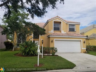 Coral Springs Single Family Home For Sale: 224 NW 116th Ln