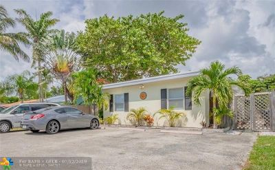 Fort Lauderdale Multi Family Home For Sale: 1529 NE 2nd Ave