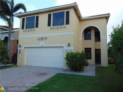 Coral Springs Single Family Home For Sale: 3432 NW 112th Ter