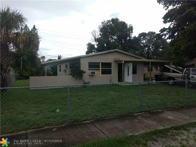Fort Lauderdale Single Family Home For Sale: 1061 NW 25th Ave
