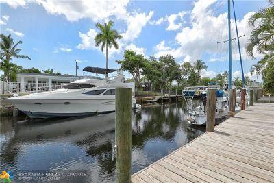 Fort Lauderdale Single Family Home For Sale: 2448 Bimini Ln