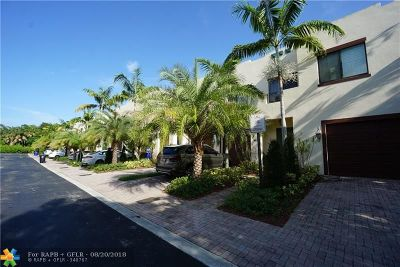 Fort Lauderdale Condo/Townhouse For Sale: 1642 SW 33rd Ct #1642