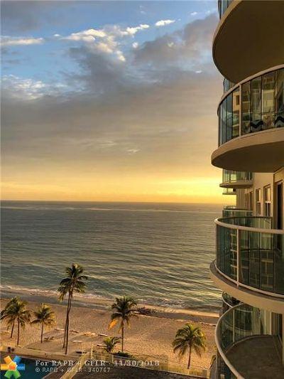 Fort Lauderdale Condo/Townhouse For Sale: 3410 Galt Ocean Dr #907N