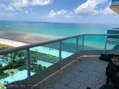 Miami Beach Condo/Townhouse For Sale: 5025 Collins Av #1604