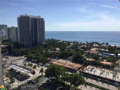 Fort Lauderdale Condo/Townhouse Backup Contract-Call LA: 3015 N Ocean Blvd #19C