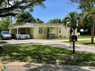 Fort Lauderdale Single Family Home Backup Contract-Call LA: 1410 NW 19th Ave