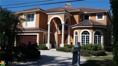 Fort Lauderdale, Lauderdale By The Sea, Lighthouse Point, Oakland Park, Pompano Beach Single Family Home For Sale: 415 Seven Isles Dr.