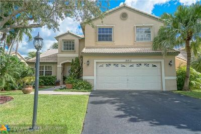 Pembroke Pines Single Family Home For Sale: 18815 NW 2nd St