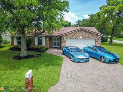 Coral Springs Single Family Home Backup Contract-Call LA: 2801 NW 88th Ter