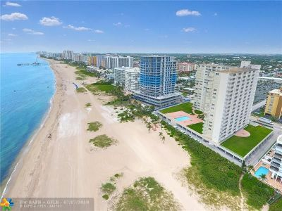 Pompano Beach Condo/Townhouse For Sale: 750 N Ocean Blvd #1402
