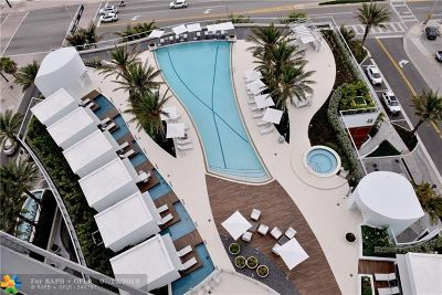 Fort Lauderdale Condo/Townhouse For Sale: 701 N Fort Lauderdale Beach Blvd #1201
