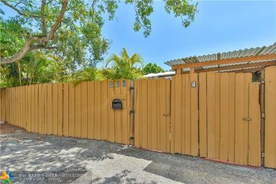 Fort Lauderdale Multi Family Home For Sale: 500 SW 12th St
