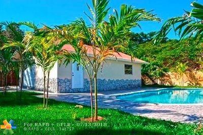 Broward County Single Family Home For Sale: 3411 NE 6th Ave