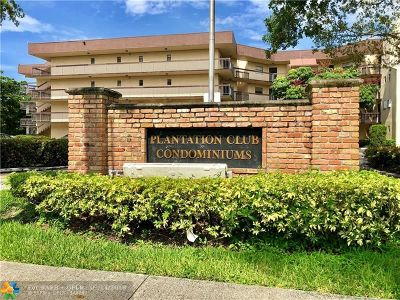Plantation Condo/Townhouse For Sale: 6755 W Broward Blvd #107A