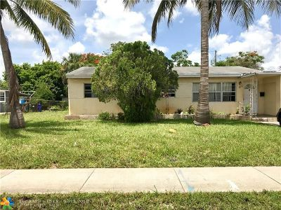 Fort Lauderdale Single Family Home For Sale: 811 SW 31st Ave