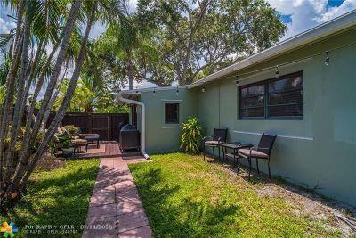 Fort Lauderdale Single Family Home For Sale: 1700 NE 16th Ter