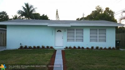 Fort Lauderdale Single Family Home For Sale: 1033 SW 18th Ave