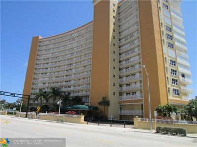 Pompano Beach Condo/Townhouse For Sale: 328 N Ocean Blvd #203