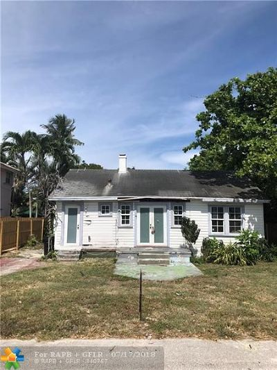 Fort Lauderdale Single Family Home For Sale: 719 NE 17