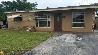 Fort Lauderdale Single Family Home For Sale: 4252 SW 21st St