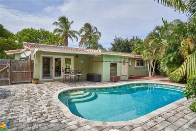 Fort Lauderdale Single Family Home For Sale: 2124 NE 63rd Ct