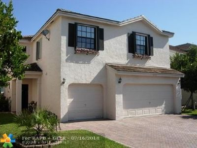 Coral Springs Single Family Home For Sale: 11133 NW 34th Ct