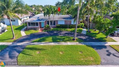 Pompano Beach FL Single Family Home For Sale: $550,000