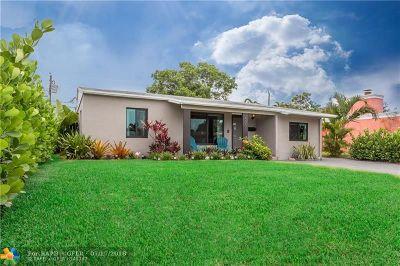 Broward County Single Family Home For Sale: 5201 NE 3rd Ter
