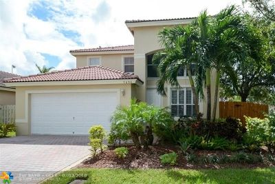 Pembroke Pines Single Family Home For Sale: 7696 NW 19th St