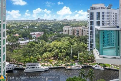 Fort Lauderdale Condo/Townhouse For Sale: 347 N New River Dr #1609
