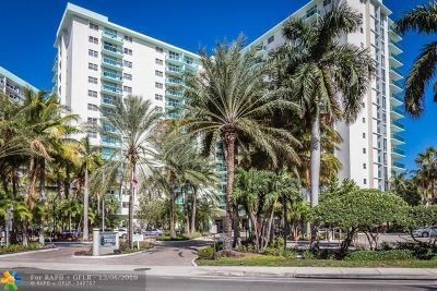 Hollywood Condo/Townhouse For Sale: 3801 S Ocean Dr #9U