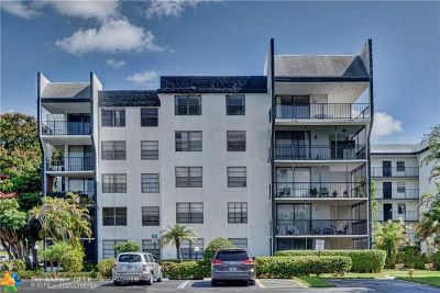Tamarac Condo/Townhouse For Sale: 6190 Woodlands Blvd #501