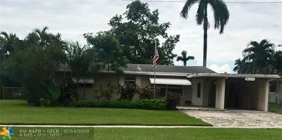 Margate Single Family Home For Sale: 6130 NW 17th St