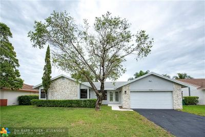 Coral Springs Single Family Home For Sale: 11275 NW 43rd Pl